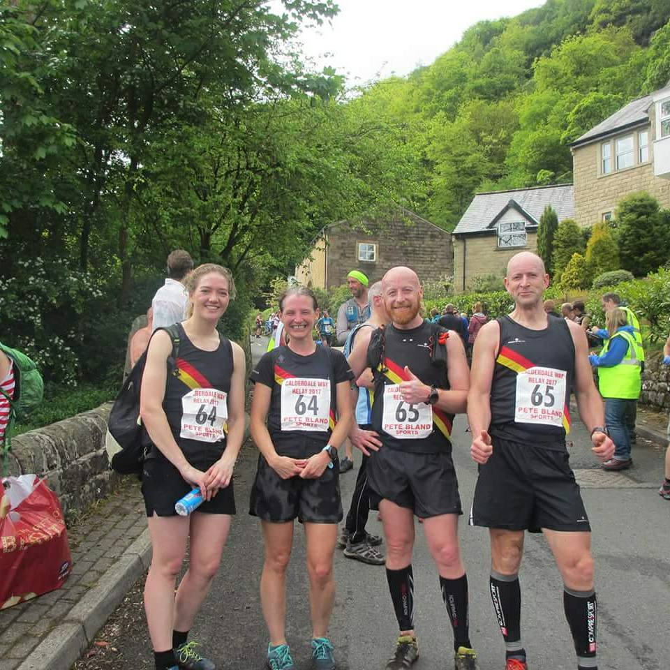 calderdale way relay rochdale harriers